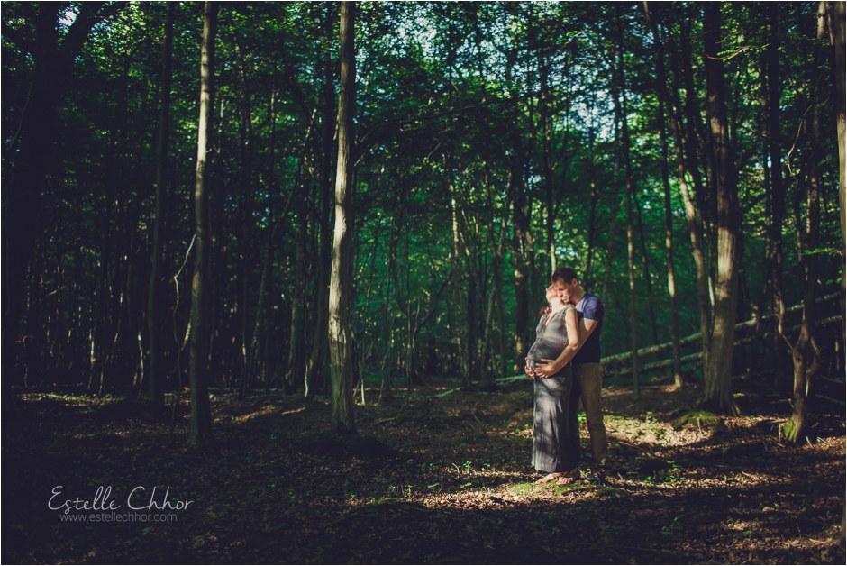S ance photo grossesse en ext rieur photographe yvelines for Shooting photo exterieur foret