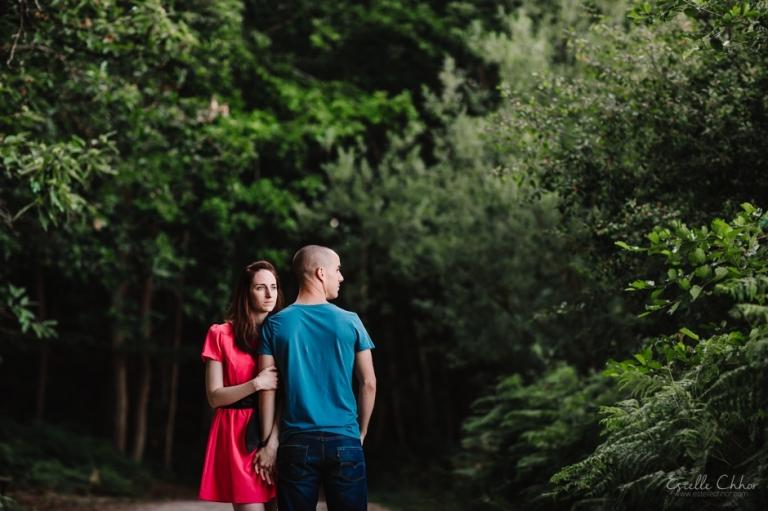 Séance photo couple Mesnil-Saint-Denis, Yvelines Photographe mariage Paris