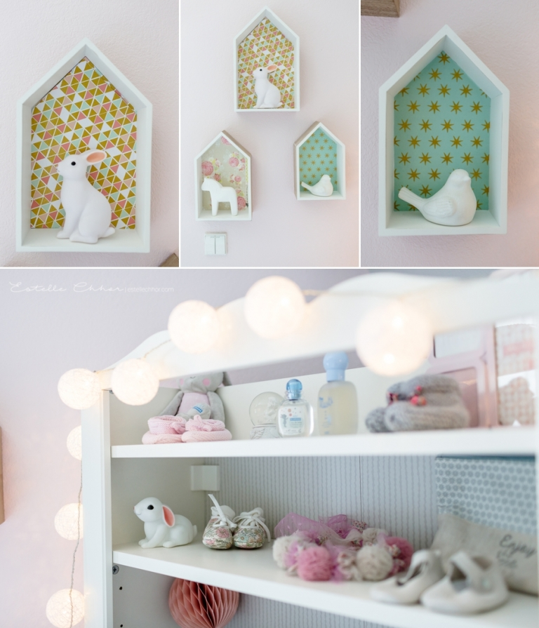 Chambre fille vert d eau design de maison for Photo chambre bebe fille rose