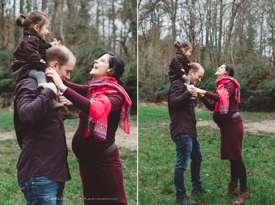 Photos de grossesse en ext rieur s ance maternit en for Yvelines sorties en famille