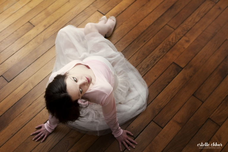 photos maternité danseuse classique