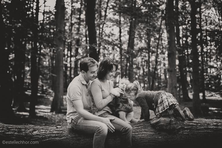 séance photo famille forêt 92