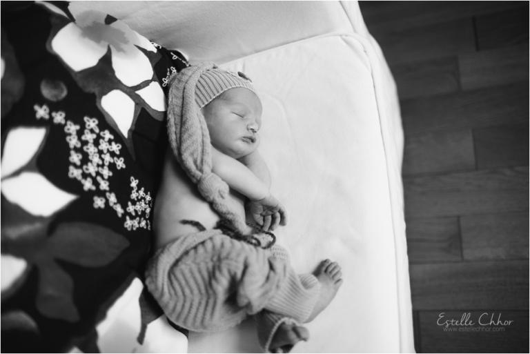 séance photo bébé à domicile