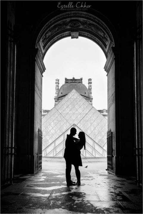 séance photo engagement paris