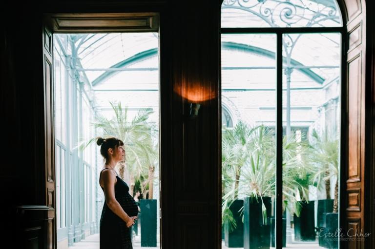 photo grossesse originale luxe paris