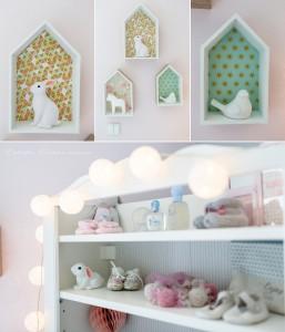 deco-chambre-skandinave-bebe-fille 4 | Estelle Chhor ...
