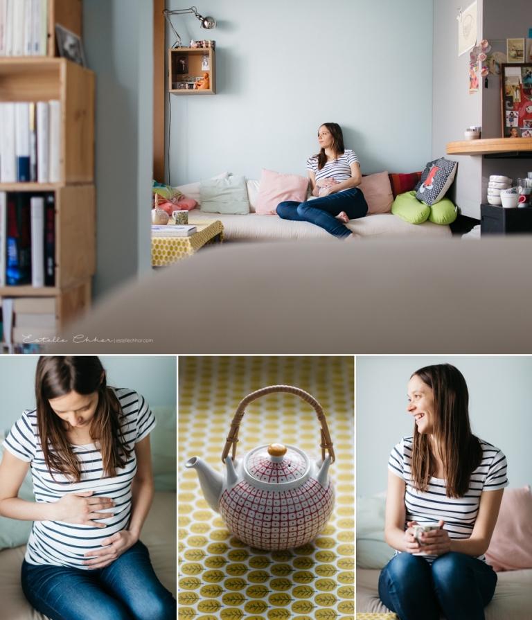 photos femme enceinte paris