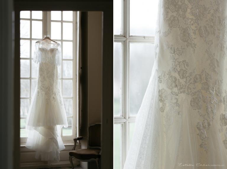 Bien-aimé Mariage franco-anglais, au château de Neuville, Gambais  ZY37