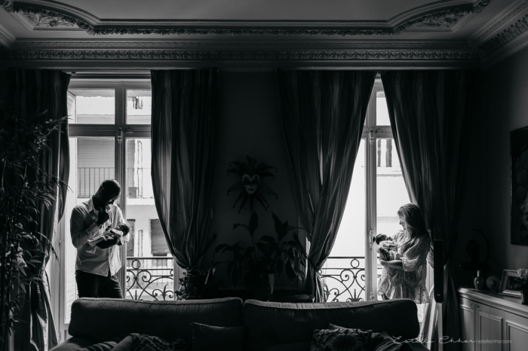 photographe nouveau-né jumeau