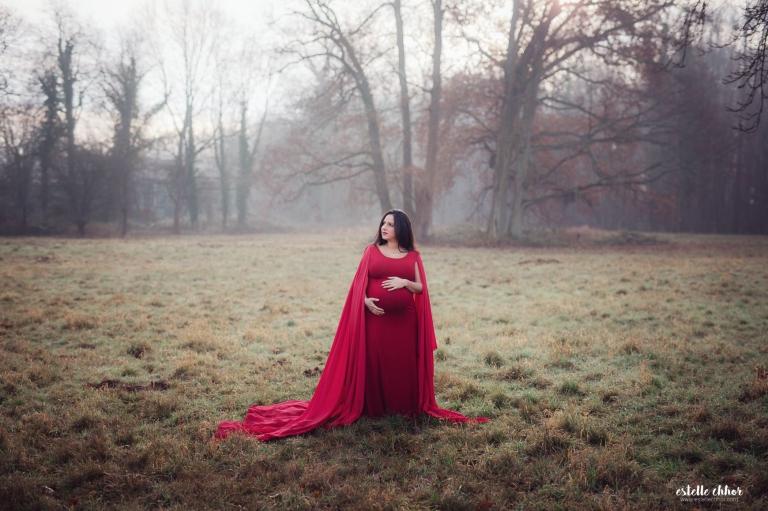 robe de maternité pour séance photos