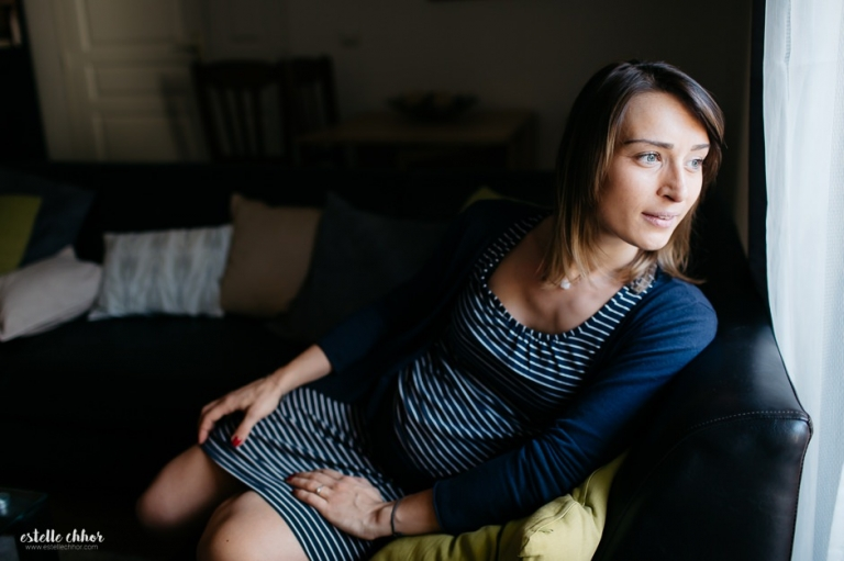 photographe grossesse domicile paris