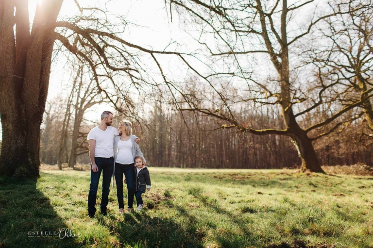séance photo famille dans la nature versailles