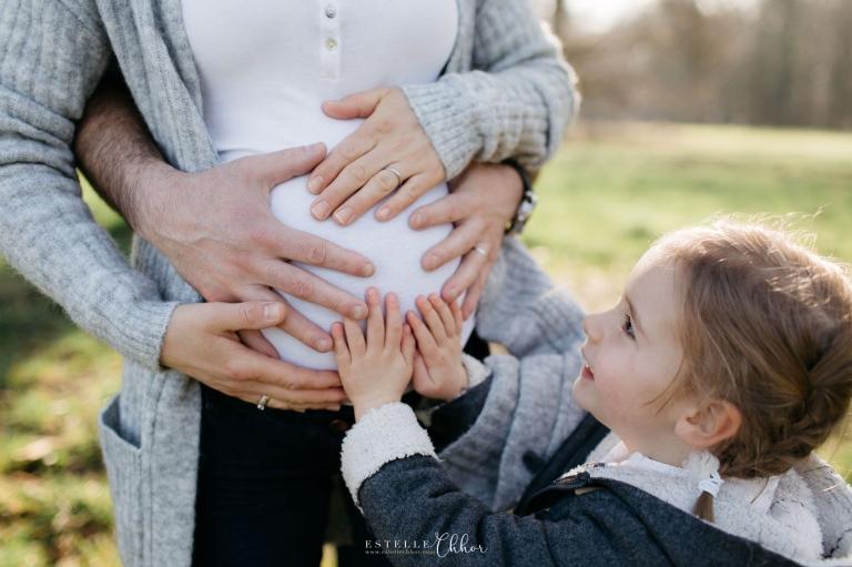 photos de maternité en famille