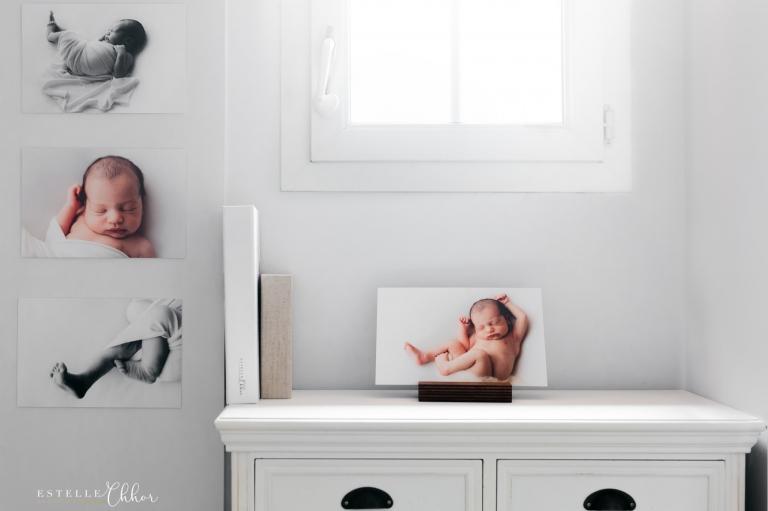 offrir séance photos bébé