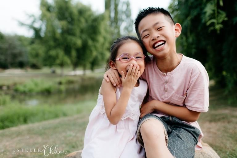 photos enfants en extérieur