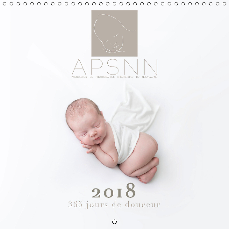 calendrier 2018 photo bébé APSNN