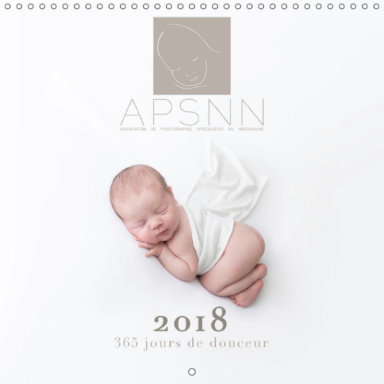 calendrier 2018 photo bébé APSNN