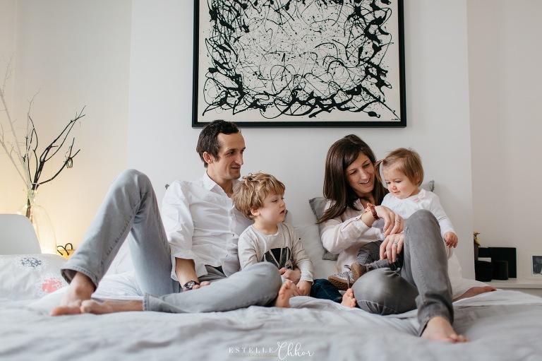 photos de famille naturelles