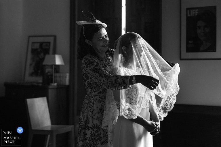 photographe mariage gard photo noir et blanc