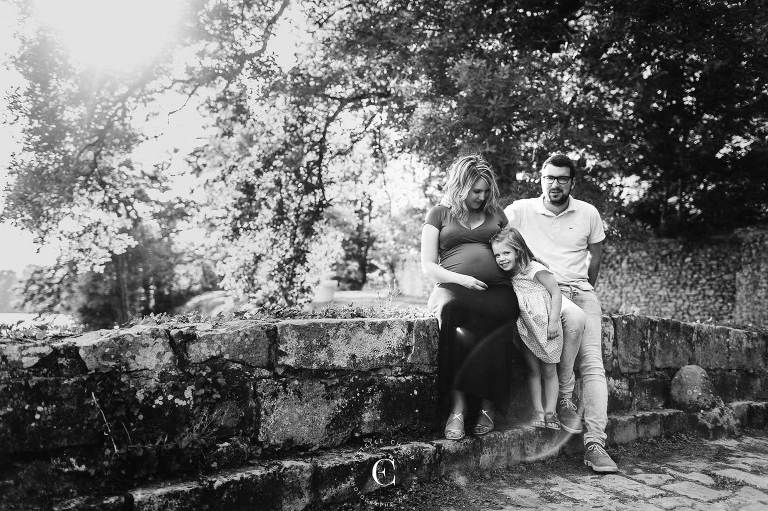 photos grossesse en famille montpellier