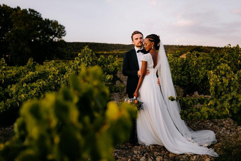 mariage chateau de la mogere