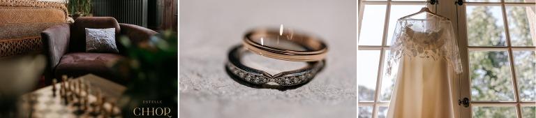 photo détail mariage alliances